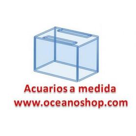 acuario 20x20x20 de altura 8litros