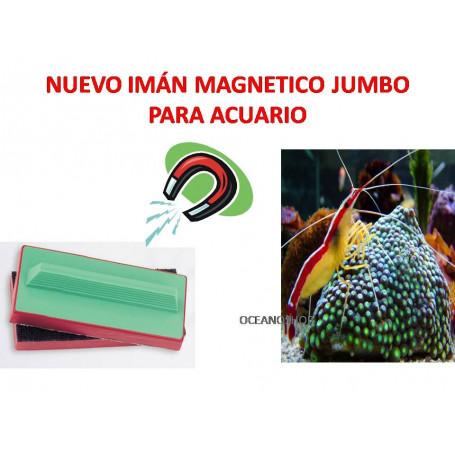 Imán magnetico Jumbo para cristales de acuario