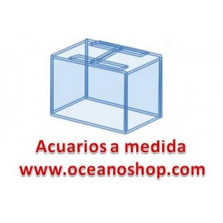 acuario 100x50x50 de altura 250litros