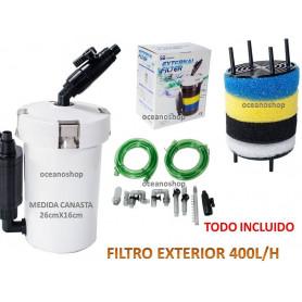 Filtro exterior 400l/h sunsun HW-603B