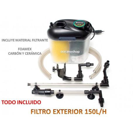 Filtro exterior 150l/h 5,5w