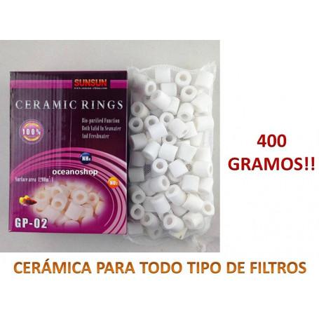 Canutillos de ceramica 400gr