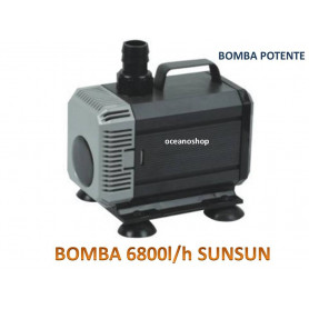 Bomba sumergible de 6800l/h