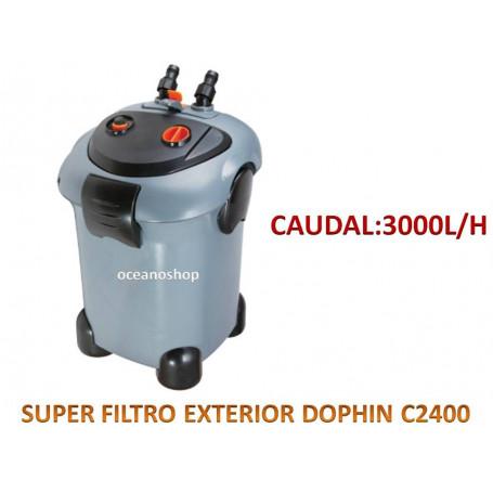 Super filtro exterior dophin 3000l/h