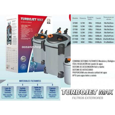 Turbojet MAX CF600 650l/h
