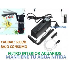 FILTRO Interior jp-033f 600l/h con foamex