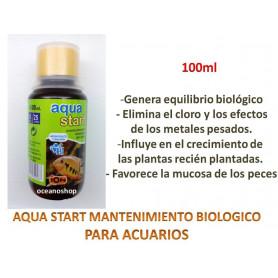 aqua start ion anticloro mantimiento biologico cloro acuario metales pesados