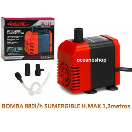Bomba sumergible de 880l/h