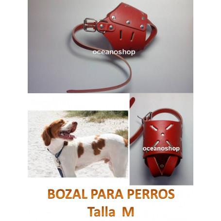Bozal de perro talla M