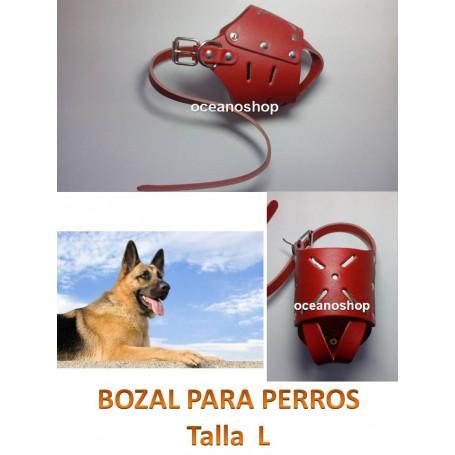 Bozal de perro talla L