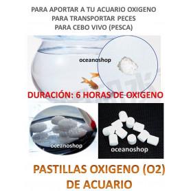 Pastillas de oxigeno 15 unidades 6h