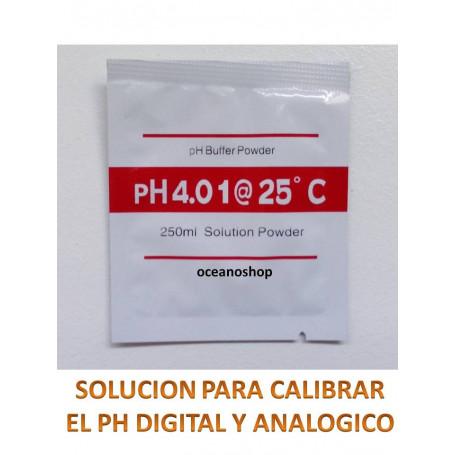 Solucion calibradora de ph 1 sobre