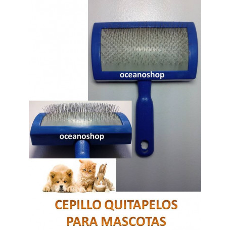 Cepillo quitapelos para mascotas