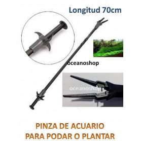 Pinza de mantenimiento de acuario 70cm
