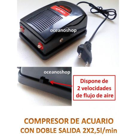 Compresor DOBLE Con REGALOS