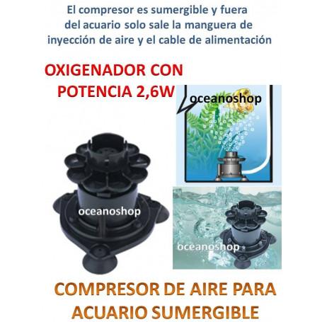 Compresor de aire 1 salida de 1,5l/min