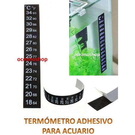 Termómetro digital adhesivo