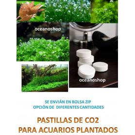 80 pastillas de CO2