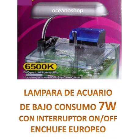 Pantalla acuario pl 7w luz blanca 6500k