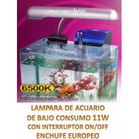 Pantalla acuario pl 11w luz blanca 6500k