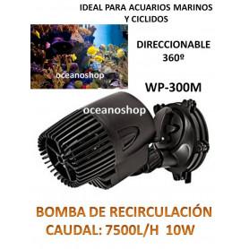 Bomba de circulación 7500l/h generador de olas o corriente en acuario marino