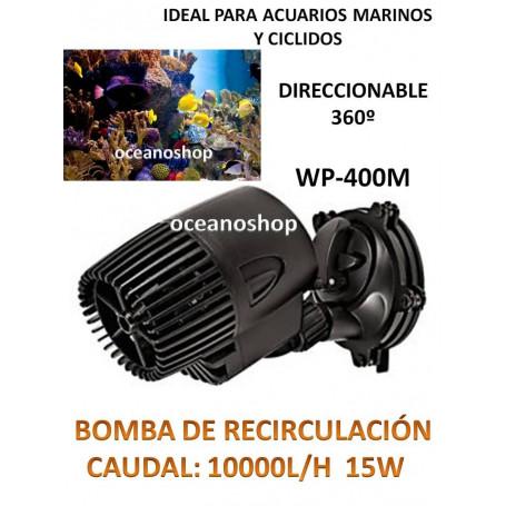 Bomba de circulación 10000l/h generador de olas o corriente en acuario marino
