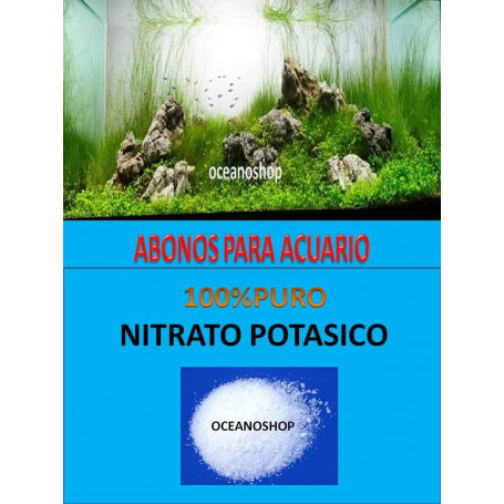 150 gr Nitrato potásico abono para acuario
