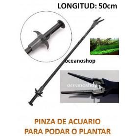 Pinza de mantenimiento de acuario 50cm