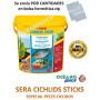 Sera Cichlids Sticks por cantidades. Comida para ciclidos en sticks