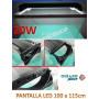PANTALLA ACUARIO DE 100cm LUZ LED BLANCOS Y AZULES leds de 20W