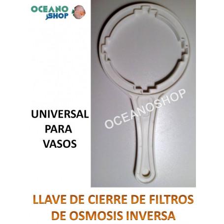 Clip doble para osmosis compacta o en linea