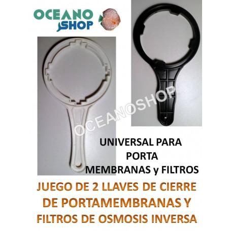 LLAVE de CIERRE UNIVERSAL PARA PORTAMEMBRANAS MEMBRANAS DE OSMOSIS