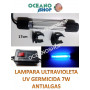 Lampara UV GERMICIDA 7W - 17cm SUMERGIBLE Clarificador Anti Algas