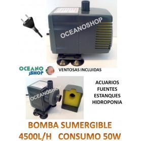 Bomba sumergible de 4500l/h