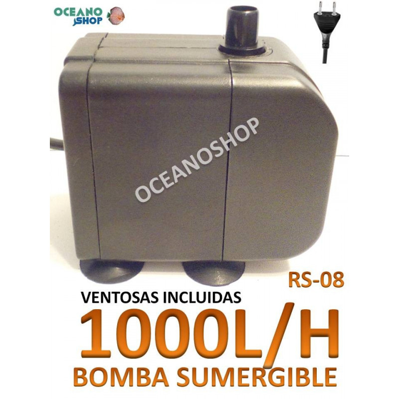 Bomba sumergible 1000l/h RS-08