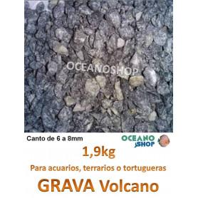 grava acuario barata sustrato plantas volcano 1,9kg