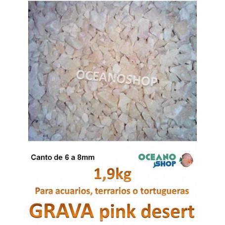 Grava natural PINK DESERT 1,9KG