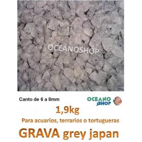 grava acuario barata sustrato plantas grey japan 1,9kg
