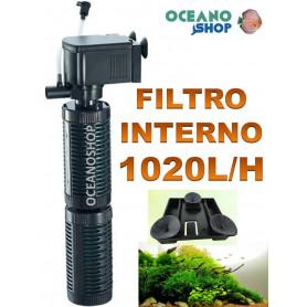 FILTRO INTERIOR 1020l/h GRAN TAMAÑO para acuarios de hasta 200litros