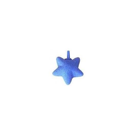 Piedra difusor burbujas forma de estrella.