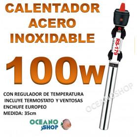 calentador acero inoxidable 100W RS 179 acuario barato