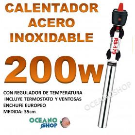 calentador acero inoxidable 200W RS 179 acuario barato
