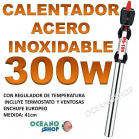 calentador acero inoxidable 300W RS 189 acuario barato