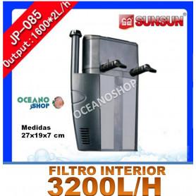 filtro interno sunsun jp 085 3200lh acuario barato