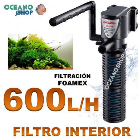 filtro interior barato xilong xl 777 acuario 600lh