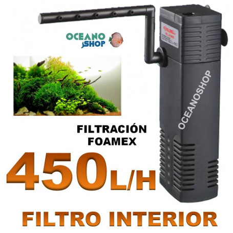 Filtro interior 450l/h 5w XL-F680