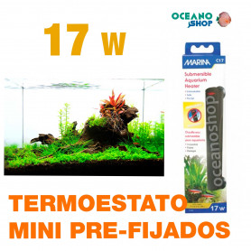 CALENTADORES MINI PRE-FIJADOS MARINA - 17w