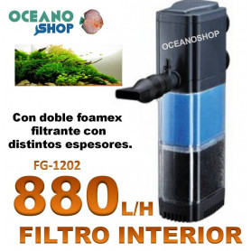 filtro interior fg 1202 asian star 880lh acuario barato