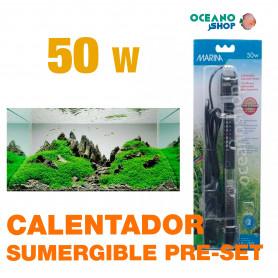 Calentador Sumergible Pre-set Marina - 50w