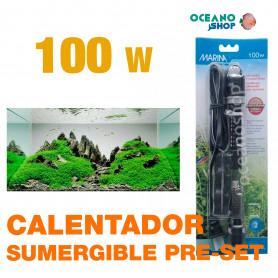 Calentador Sumergible Pre-set Marina - 100w